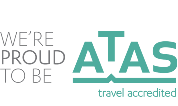 We're proud to be ATAS Travel Acredited