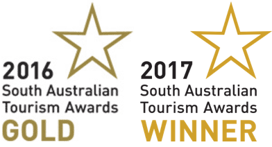 2016 & 217 South Australian Tourism Awards Winner